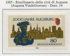 PIA - GERMANIA : 1985 : Bimillenario Della Città Di Augusta (Augusta Vindelicprum)  - (Yv 1066) - Neufs