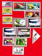 3976  --  MOGOLIE - Lot  De B Timbres  PA  +  BF  Oblitérés - Mongolie