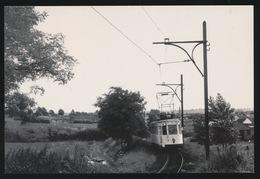 BRABANT  LIJN B   BRUSSEL  LEUVEN  MOTORWAGEN N  - VOSSEM  1960  2 SCANS - Tram