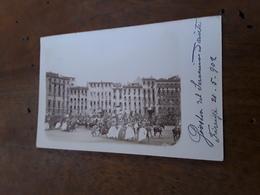 Cartolina Postale Fotografica 1902, Firenze, Giostra Del Saracino - Firenze