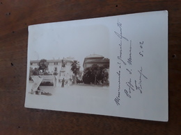 Cartolina Postale Fotografica 1902, Firenze, Piazza S. Marco - Firenze