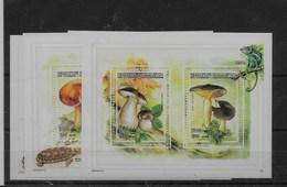 Serie De Madagascar Nº Yvert 1578/81 ** SETAS (MUSHROOMS) - Madagascar (1960-...)