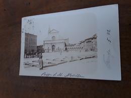 Cartolina Postale Fotografica 1902, Firenze, Piazza S. Maria Novella - Firenze