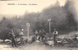 88-BUSSANG- A LA FRONTIERE - COL D'ODEREN - Bussang