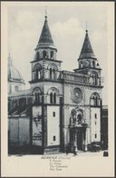 Il Duomo, Acireale, C.1910s - Grand Hôtel Des Bains Cartolina - Acireale