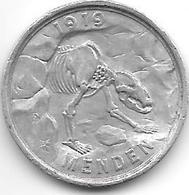 Notgeld  Menden 50 Pfennig 1919/1920 Alu   328.13 - [ 2] 1871-1918 : Imperio Alemán