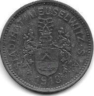 Notgeld  Meuselwitz 50 Pfennig 1918 Zn  9062.3 - Otros