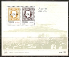 Azores Portugal 1980 Stamp On Stamp M/s Sc 315a MNH # 8222 - Stamps On Stamps