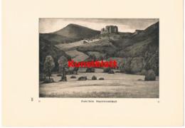1139 Franz Hein Vogesen Landschaft Kunstblatt 1909 !! - Prints