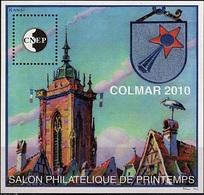 CNEP - BLOC COLMAR 2010 Salon Philatélique Printemps DESSIN DE HANSI - CNEP