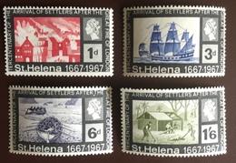 St Helena 1967 Tercentenary Of Settlers MNH - Saint Helena Island
