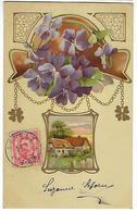 LUXEMBOURG - CARTE - Envoyée De ASPELT - 1902 - Cartes Postales