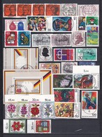 BRD - 1974 - Sammlung - Gest. - Komplet - Gebraucht