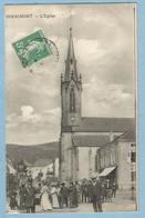 A114  CPA   CORNIMONT   (Vosges) L'Eglise   -  Animation  +++++ - Cornimont