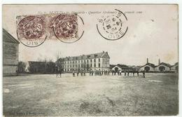 CPA - 60 - SENLIS - 2ème Hussards - Quartier Ordener - La Grande Cour - 1904 - - Senlis