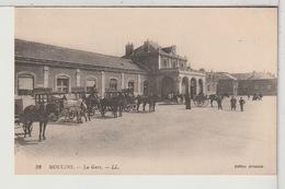 03 - MOULINS - La Gare Animée - Moulins