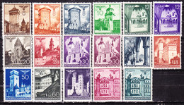 Germania1940 Occupazione Polonia Vedute Serie Completa Nuova MLLH - Germany
