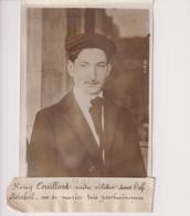 RÉMY COUILLARD CELEBRE L'AFFAIRE STEINHEIL  18*13CM Maurice-Louis BRANGER PARÍS (1874-1950) - Personalidades Famosas