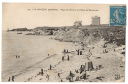 CPA 29 - LE CONQUET (Finistère) - 585. Plage De Porstrez Et Pointe De Kermorvan - Le Conquet