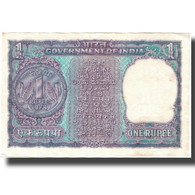 Billet, Inde, 1 Rupee, KM:77q, TTB - Inde