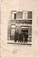 FOTO 8 * 6CM OOSTKAMP CAFE IN 'T VINSKE AIGLE-BELGICA - Otras Colecciones