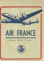 AIR FRANCE . AVION A HELICE - Étiquettes à Bagages