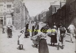 CANCALE Scène Animée Vers 1890 Ille-et-Vilaine 35 Bretagne - Places