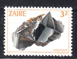 Zaire 1983 Mi Nr  808, Cassiteriet - Zaïre