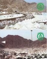 Saudi Arabia, GPT Magnetic Phone Card, Mina (2-cards) - Saoedi-Arabië