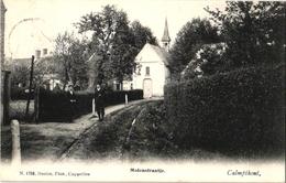 1 Postkaart   Kalmphout Calmphout Molenstraatje C1906  Kerk Kapel Uitg.F.Hoelen - Kalmthout