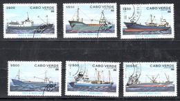 Cabo Verde 1980 Mi Nr  431 - 436 , Schepen, Ship - Kaapverdische Eilanden
