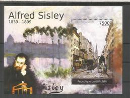 BURUNDI ALFRED SISLEY PINTURA ARTE PAINTING - Impresionismo