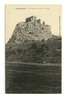 Carte Postale Ancienne Eyguières - Le Castelas De La Reine Jeanne - Eyguieres