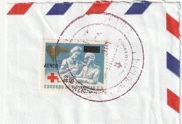 Honduras. Aeor L. 40.00 Rotes Kreuz, Red Cross Überdruckmarke Auf Fragment - Honduras