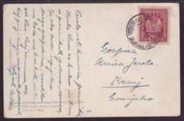 Vigaun Bei Zirknitz - Begunje Pri Cerknici, On Picture Postcard, 1915 - 1850-1918 Empire