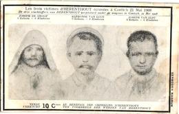 1 Postkaart  Herenthout  3 Slachtoffers  Ten Voordele Der Wezen Van Herenthout - Herenthout
