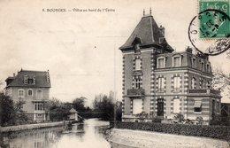 CPA    -    BOURGES   -   VILLAS AU BORD DE L' YEVRE - Bourges