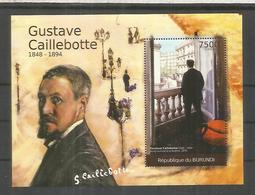 BURUNDI GUSTAVE CAILLEBOTTE PINTURA ARTE - Impresionismo