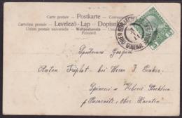 Ober Gorjach B. Veldes - Gorenje Gorje, On Picture Postcard,  1911 - Covers & Documents