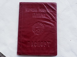 Passeport Bulgaria 1966 Visas USSR DDR RARE    Passeport Reisepass Pasaporte Border Stamp  A 200 - Documenti Storici