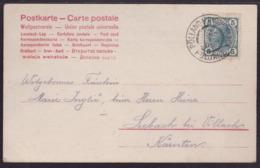 Pölland B. Bischoflack - Poljane, On Picture Postcard,  1906 - 1850-1918 Empire