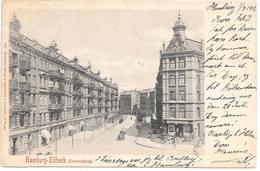 Germany - Hamburg-Eilbeck - Conventstrasse - 1901 With Stamp To Denmark - Alemania