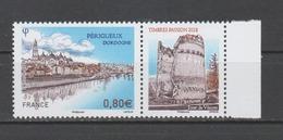 FRANCE / 2018 / Y&T N° 5273 ** : Périgueux (Dordogne) Avec Vignette BdF D - Gomme D'origine Intacte - Francia
