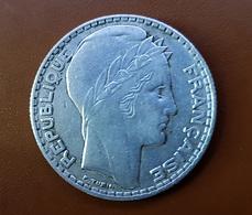 Piece Argent Silver, 10 Francs Type Turin Année 1933 - France