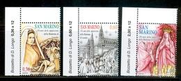 2008 Mi 2338-2340 - San Marino