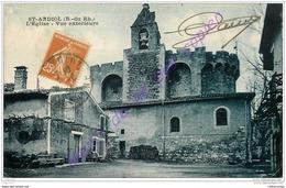 13. SAINT ANDIOL . L'eglise . Vue Extérieure . - France