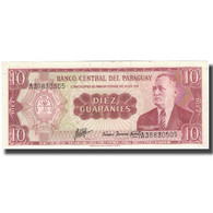Billet, Paraguay, 10 Guaranies, KM:196a, SUP - Paraguay