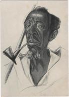 Old Mu-Tusi Man - Loc. Birambo, Ruanda - Vieillard Mu-Tusi - Rwanda