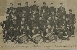 Bourges Carte Photo Moutenot Cantinier 95 Eme Infanterie Clairons Et Tambours Envoi à Bengy Sur Craon - Bourges