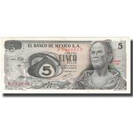 Billet, Mexique, 5 Pesos, 1969-12-03, KM:62a, SPL - Mexico